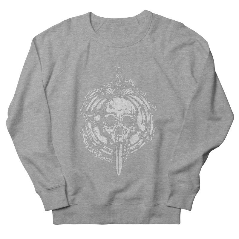Bishop skull Men's French Terry Sweatshirt by juliusllopis's Artist Shop