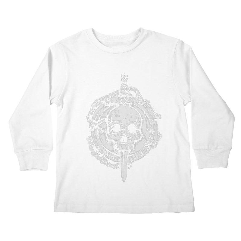 Bishop skull Kids Longsleeve T-Shirt by juliusllopis's Artist Shop