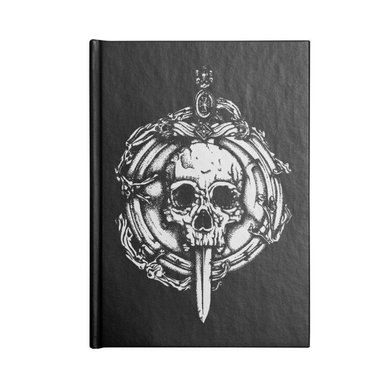 Bishop skull Accessories Notebook by juliusllopis's Artist Shop