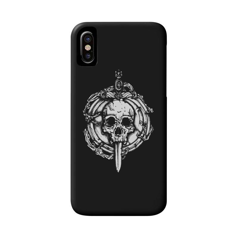 Bishop skull Accessories Phone Case by juliusllopis's Artist Shop