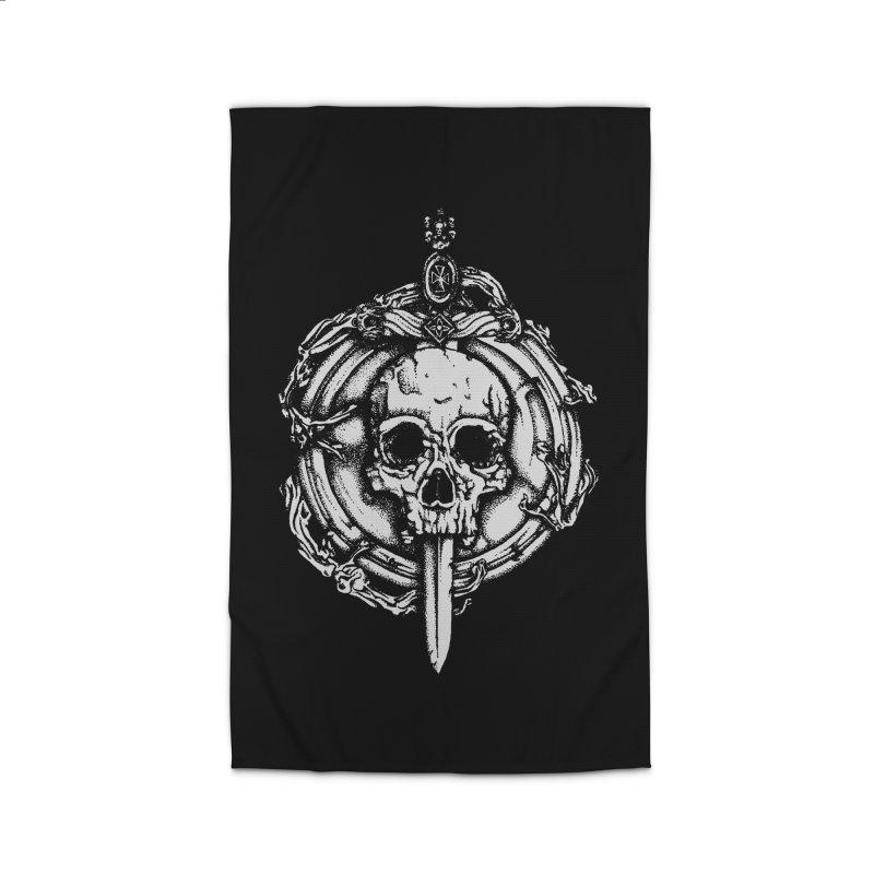Bishop skull Home Rug by juliusllopis's Artist Shop