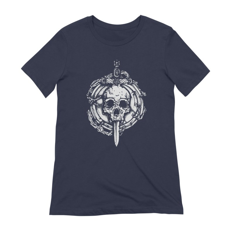 Bishop skull Women's Extra Soft T-Shirt by juliusllopis's Artist Shop