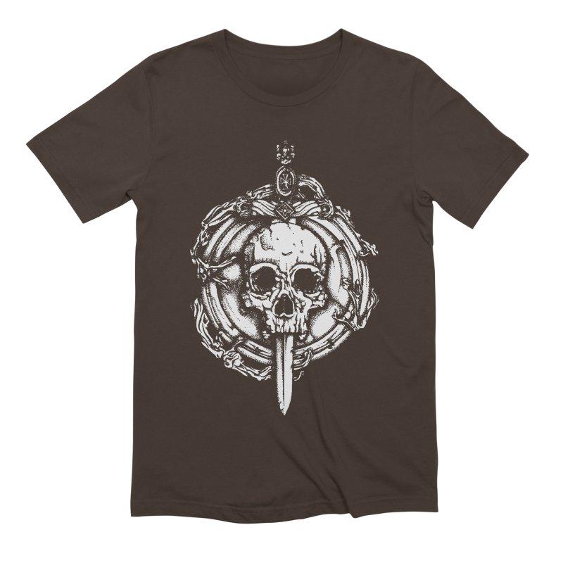 Bishop skull Men's Extra Soft T-Shirt by juliusllopis's Artist Shop