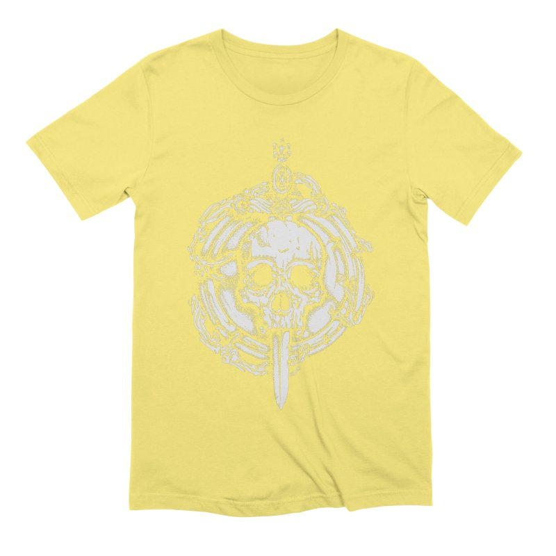 Bishop skull Men's Extra Soft T-Shirt by juliusllopis's Artist Shop