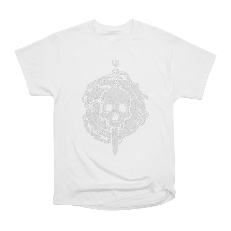 Bishop skull Women's Heavyweight Unisex T-Shirt by juliusllopis's Artist Shop