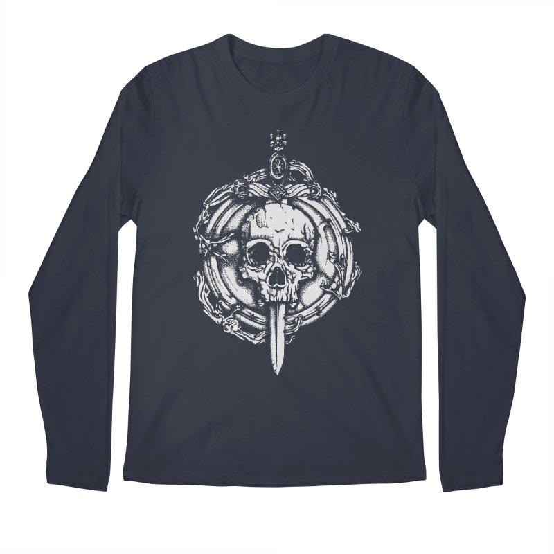 Bishop skull Men's Regular Longsleeve T-Shirt by juliusllopis's Artist Shop