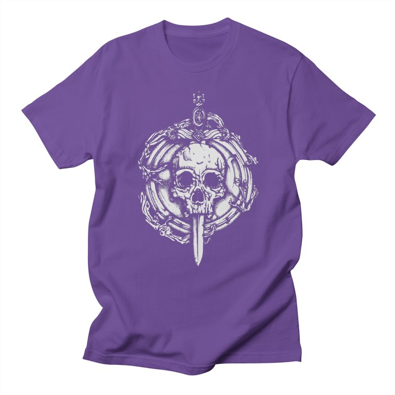 Bishop skull Men's Regular T-Shirt by juliusllopis's Artist Shop