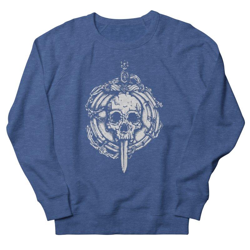 Bishop skull Women's French Terry Sweatshirt by juliusllopis's Artist Shop