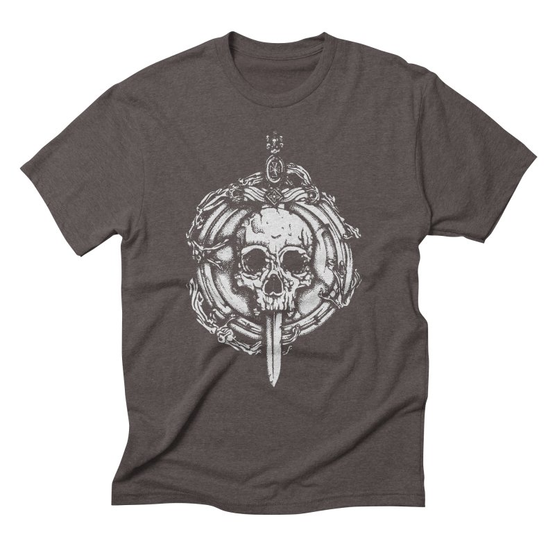 Bishop skull Men's Triblend T-Shirt by juliusllopis's Artist Shop