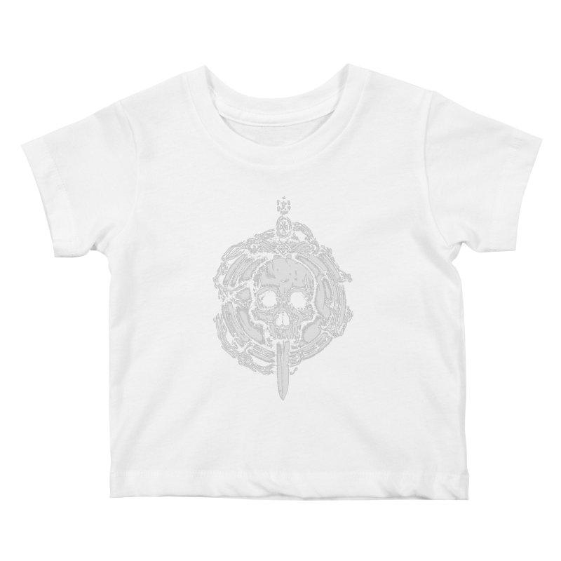 Bishop skull Kids Baby T-Shirt by juliusllopis's Artist Shop