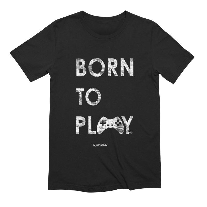 Born to Play אנחנו דור הגיימינג, נולדנו לשחק Men's T-Shirt by GamingBarosh גיימינג בראש