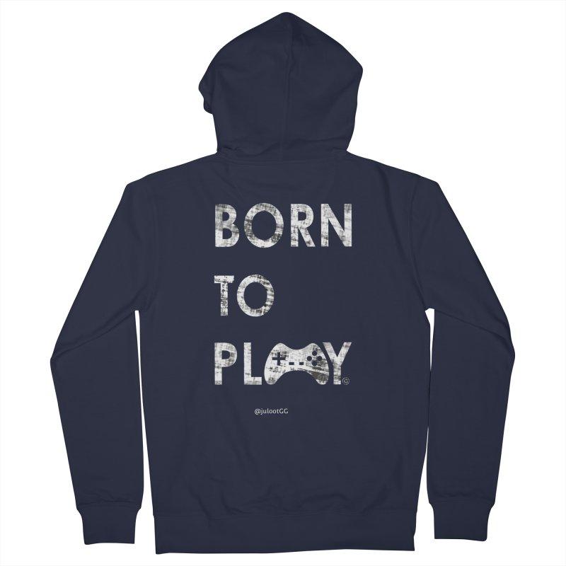 Born to Play אנחנו דור הגיימינג, נולדנו לשחק Women's Zip-Up Hoody by GamingBarosh גיימינג בראש