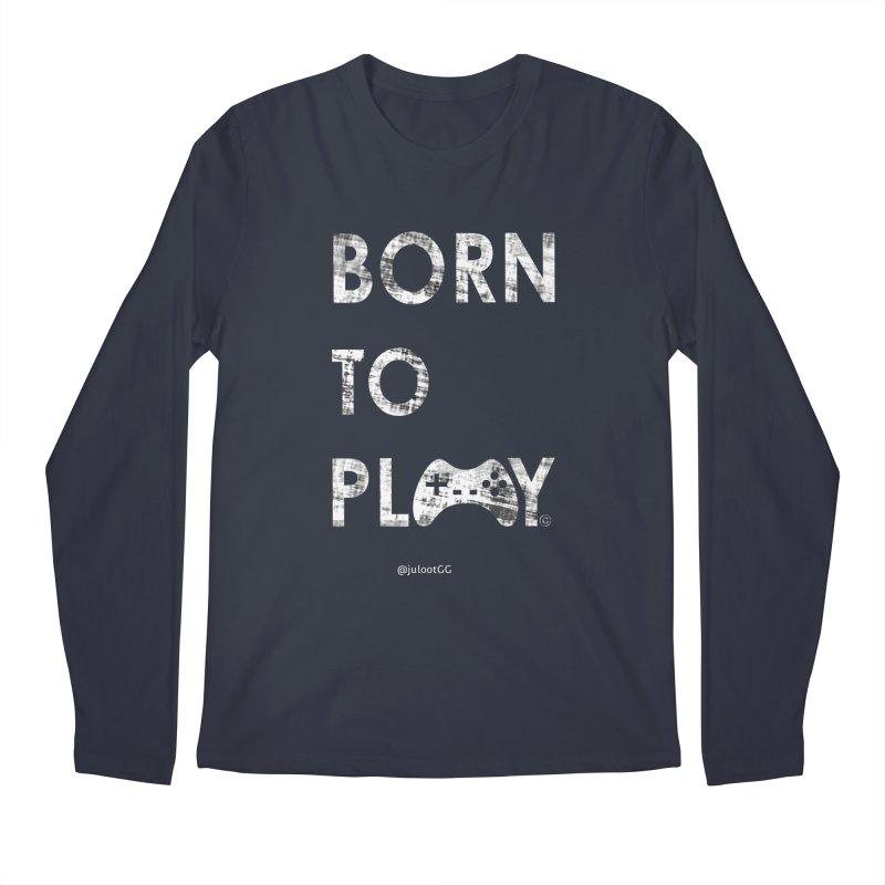 Born to Play אנחנו דור הגיימינג, נולדנו לשחק Men's Longsleeve T-Shirt by GamingBarosh גיימינג בראש