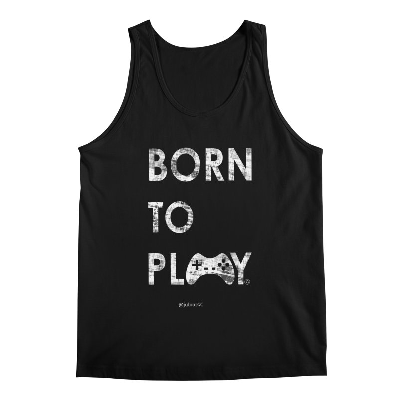 Born to Play אנחנו דור הגיימינג, נולדנו לשחק Men's Tank by GamingBarosh גיימינג בראש