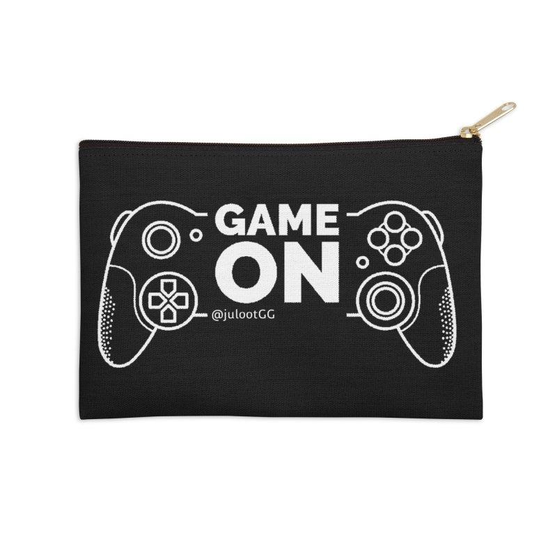 GAMEON! Accessories Zip Pouch by GamingBarosh גיימינג בראש