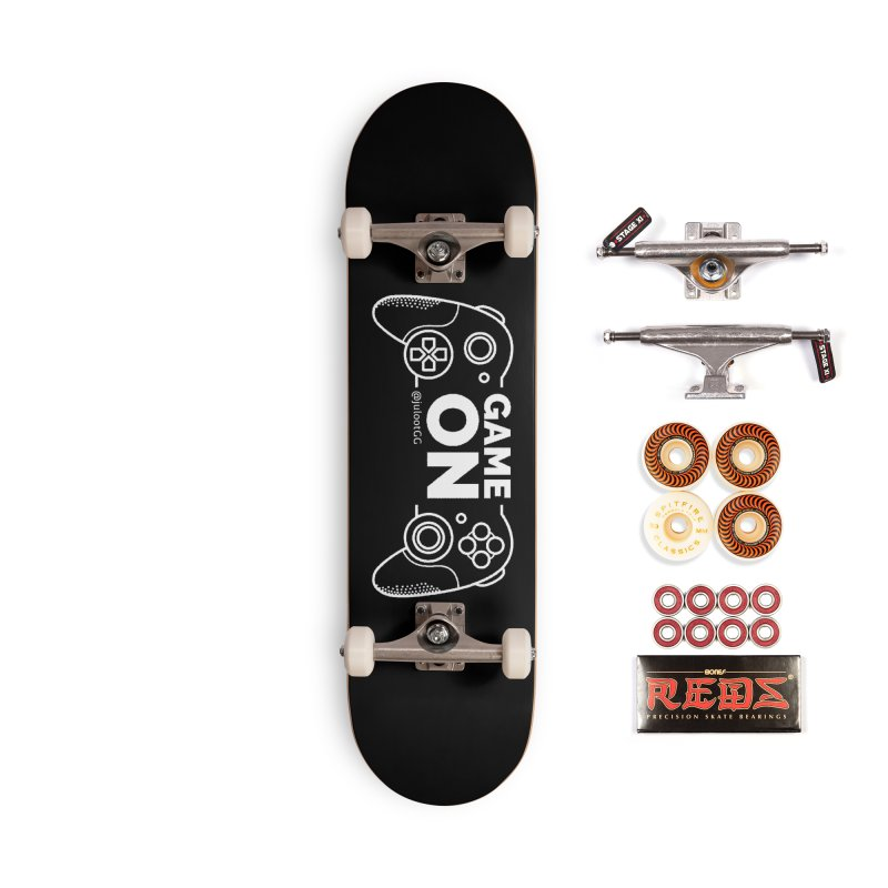 GAMEON! Accessories Skateboard by GamingBarosh גיימינג בראש