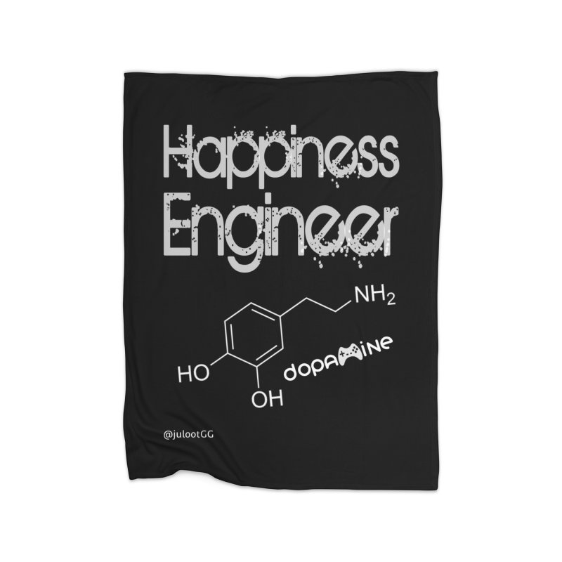 Happiness Engineer מהנדס.ת אושר Home Blanket by GamingBarosh גיימינג בראש