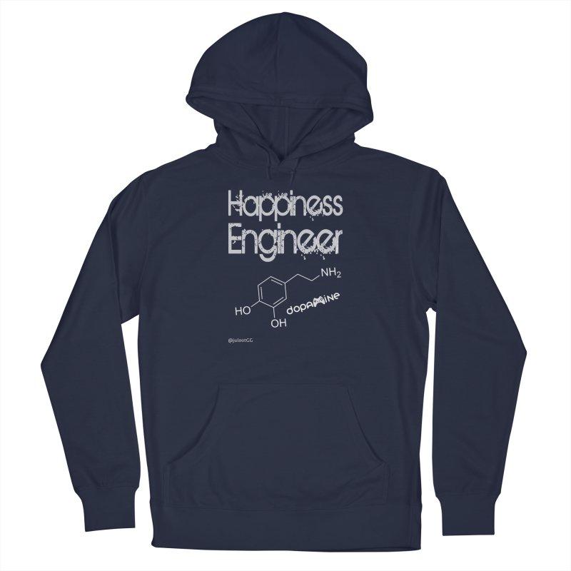 Happiness Engineer מהנדס.ת אושר Men's Pullover Hoody by GamingBarosh גיימינג בראש