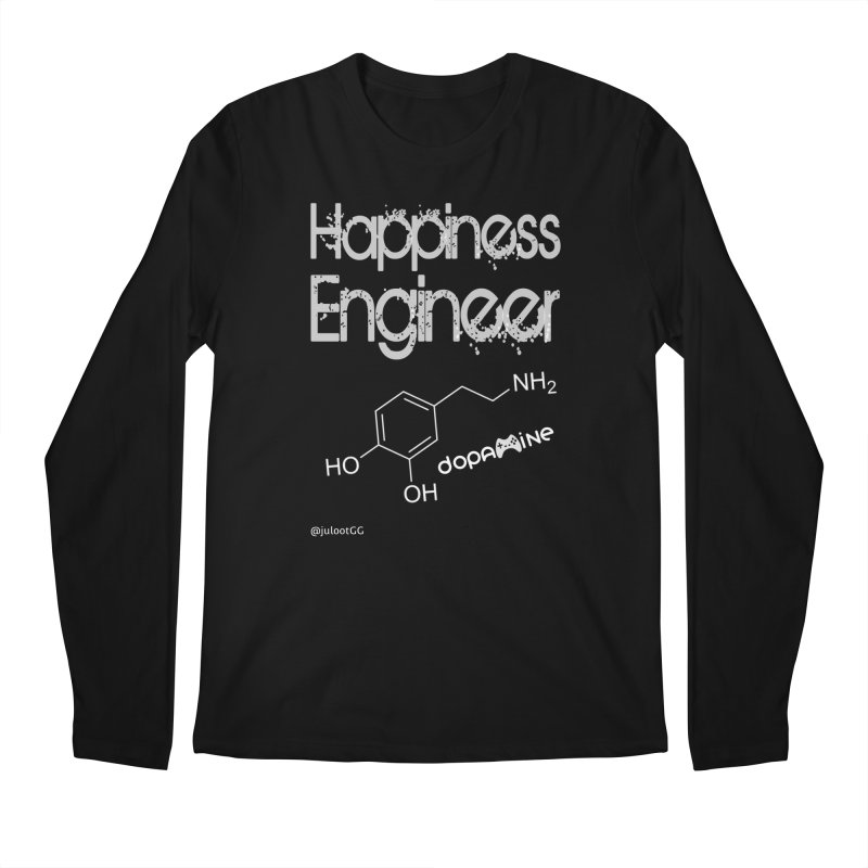 Happiness Engineer מהנדס.ת אושר Men's Longsleeve T-Shirt by GamingBarosh גיימינג בראש