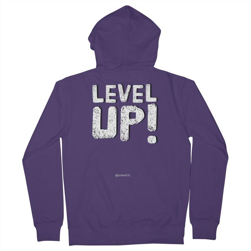 LEVEL-UP! גיימר.ית Women's Zip-Up Hoody by GamingBarosh גיימינג בראש