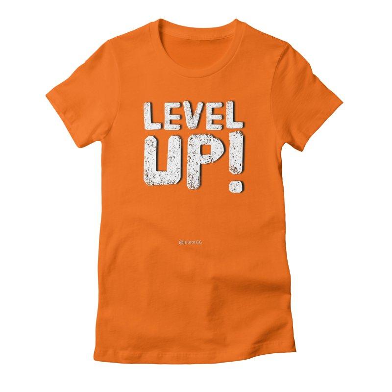 LEVEL-UP! גיימר.ית Women's T-Shirt by GamingBarosh גיימינג בראש