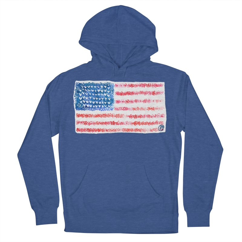 FOR THE PATRIOTS Women's Pullover Hoody by Jucel Meneses