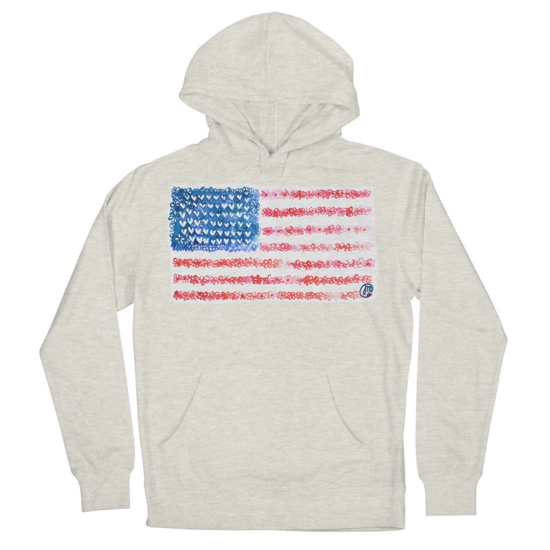 FOR THE PATRIOTS Men's Pullover Hoody by Jucel Meneses