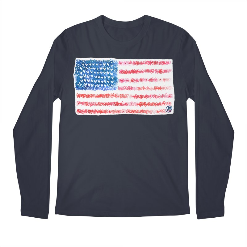 FOR THE PATRIOTS Men's Longsleeve T-Shirt by Jucel Meneses