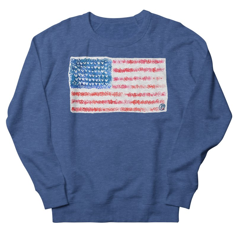 FOR THE PATRIOTS Men's Sweatshirt by Jucel Meneses