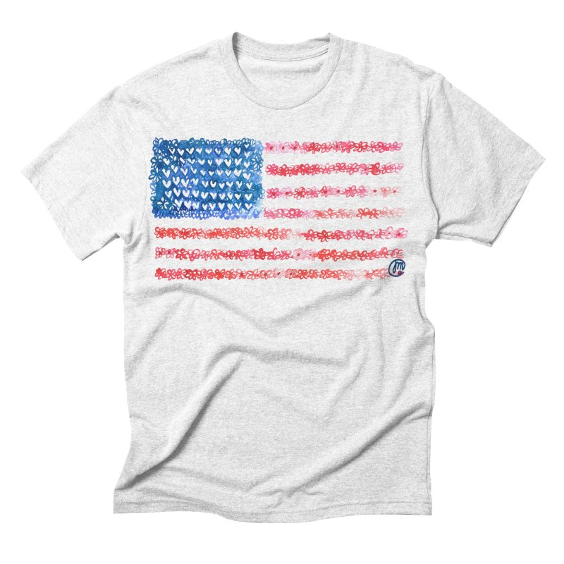 FOR THE PATRIOTS Men's Triblend T-shirt by Jucel Meneses