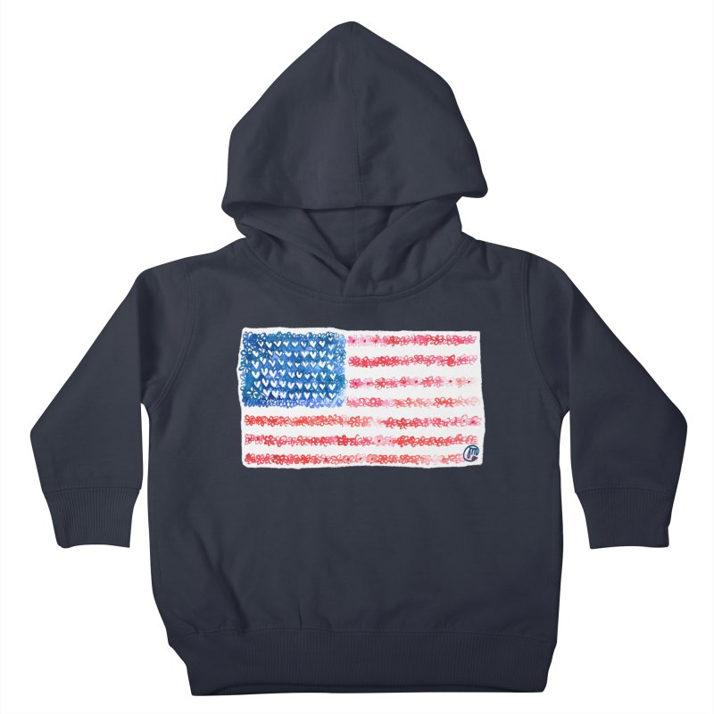 FOR THE PATRIOTS Kids Toddler Pullover Hoody by Jucel Meneses