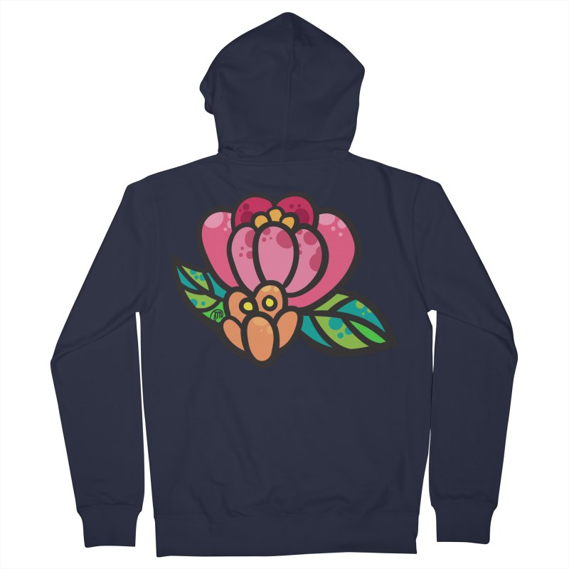 Sea Flower Women's Zip-Up Hoody by Jucel Meneses