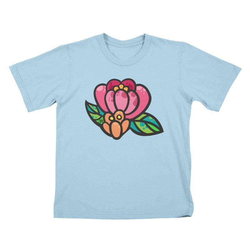 Sea Flower Kids T-shirt by Jucel Meneses