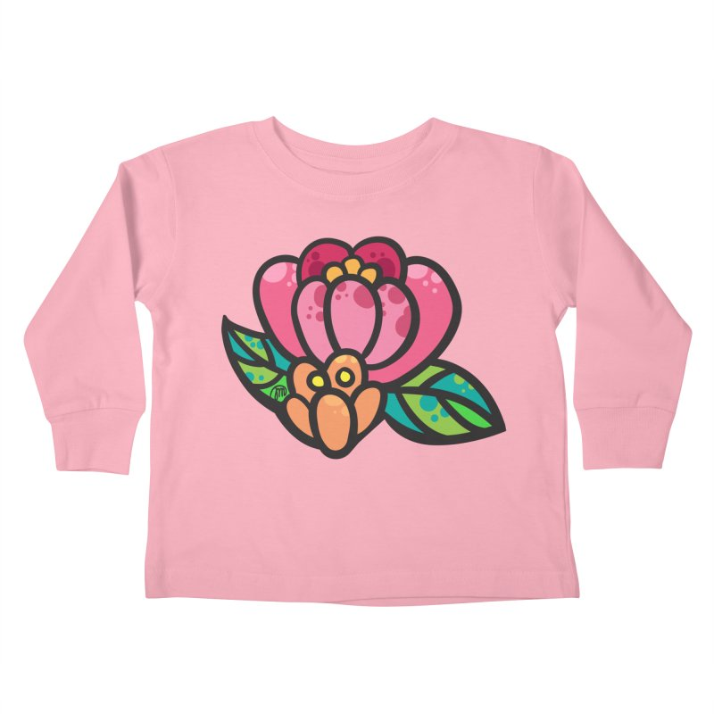 Sea Flower Kids Toddler Longsleeve T-Shirt by Jucel Meneses