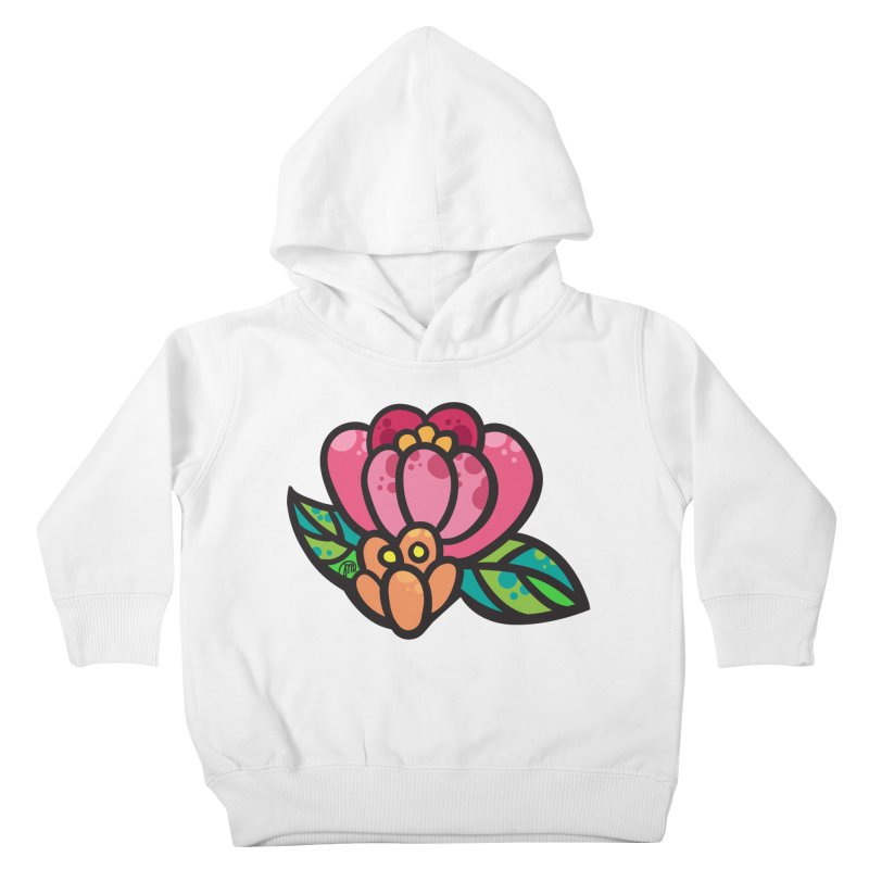 Sea Flower Kids Toddler Pullover Hoody by Jucel Meneses