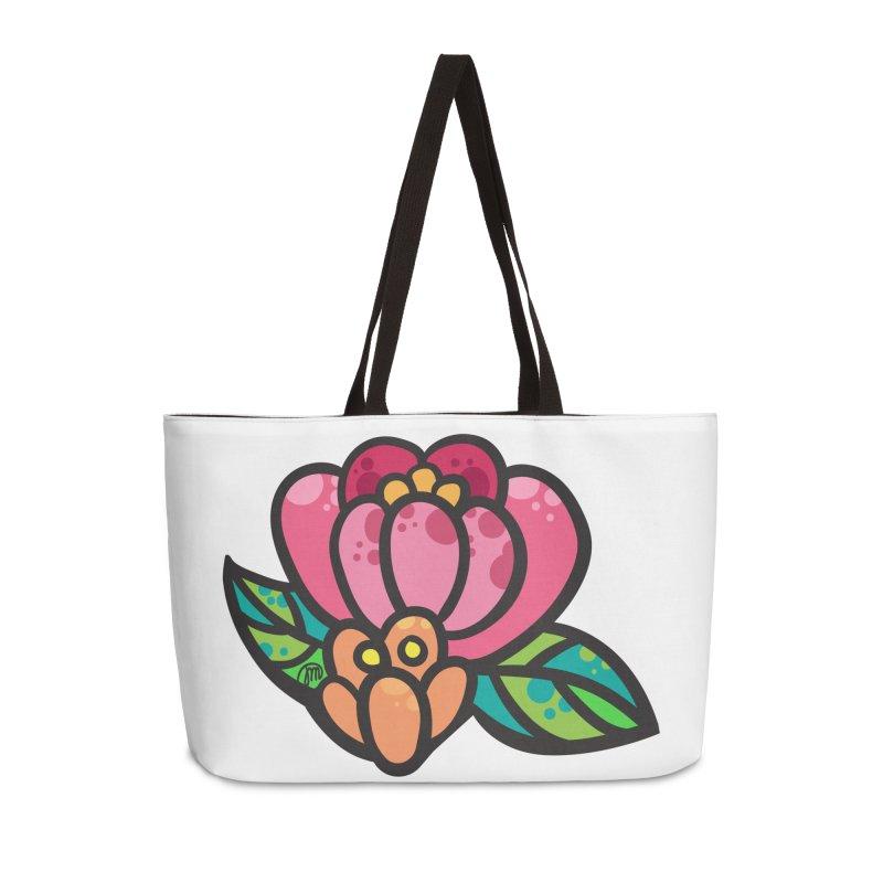 Sea Flower Accessories Bag by Jucel Meneses