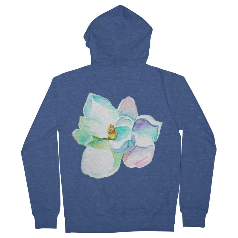 Water Magnolia Women's Zip-Up Hoody by Jucel Meneses
