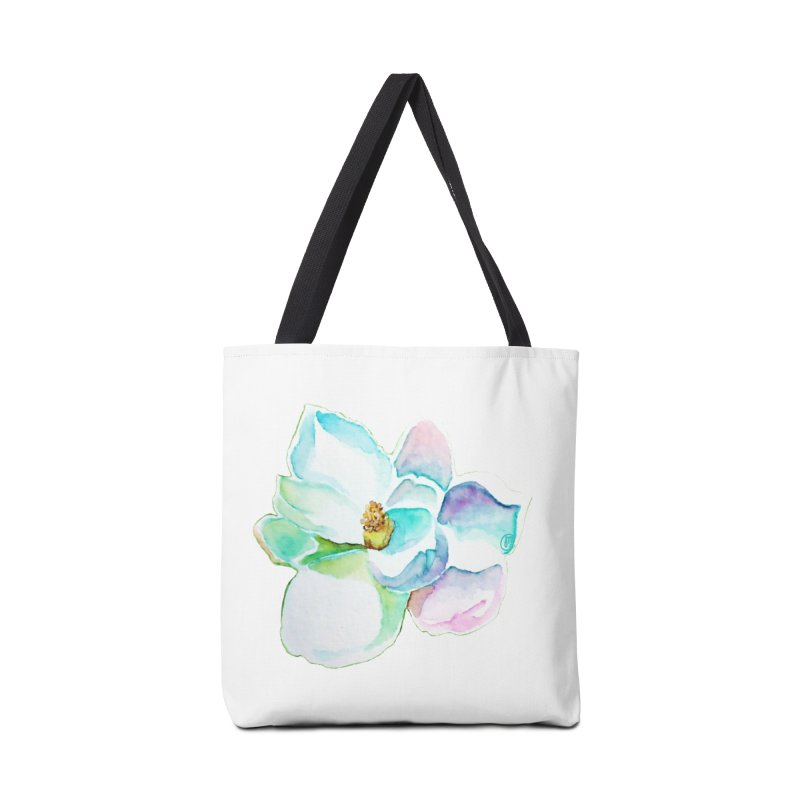 Water Magnolia Accessories Bag by Jucel Meneses
