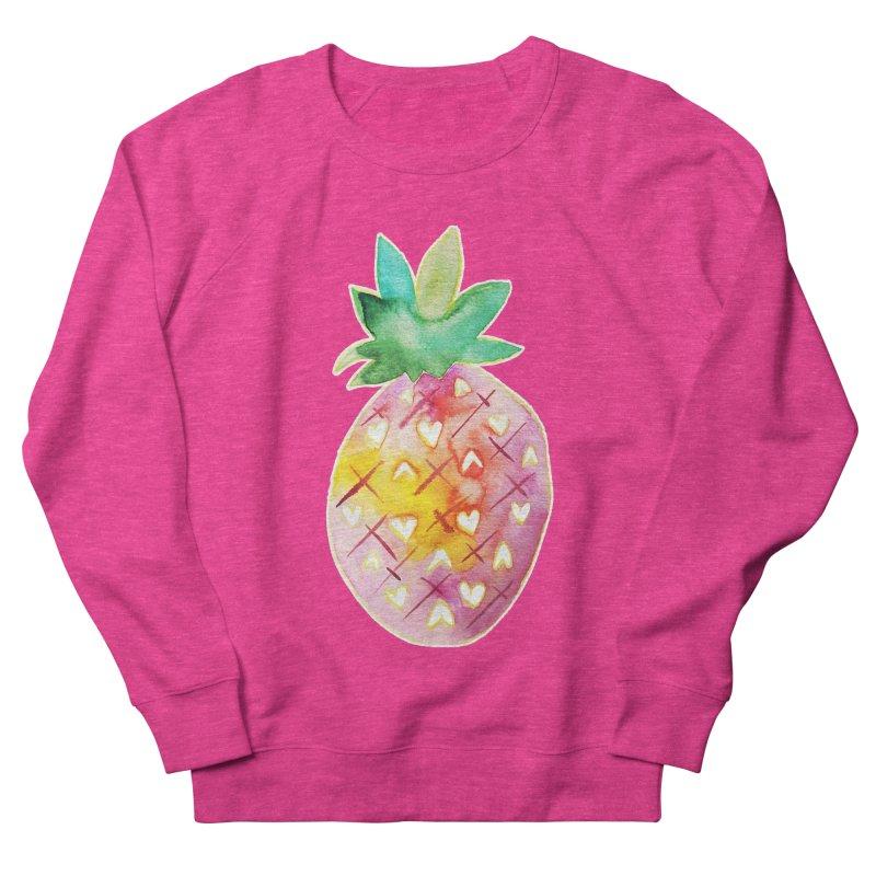 Sweet pineapple Women's Sweatshirt by Jucel Meneses