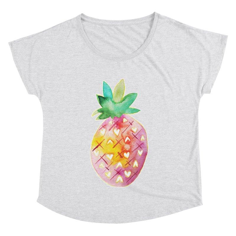 Sweet pineapple Women's Dolman by Jucel Meneses