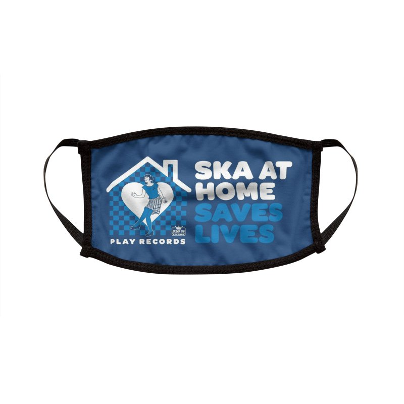 SKA AT HOME Accessories Face Mask by Jump Up Records