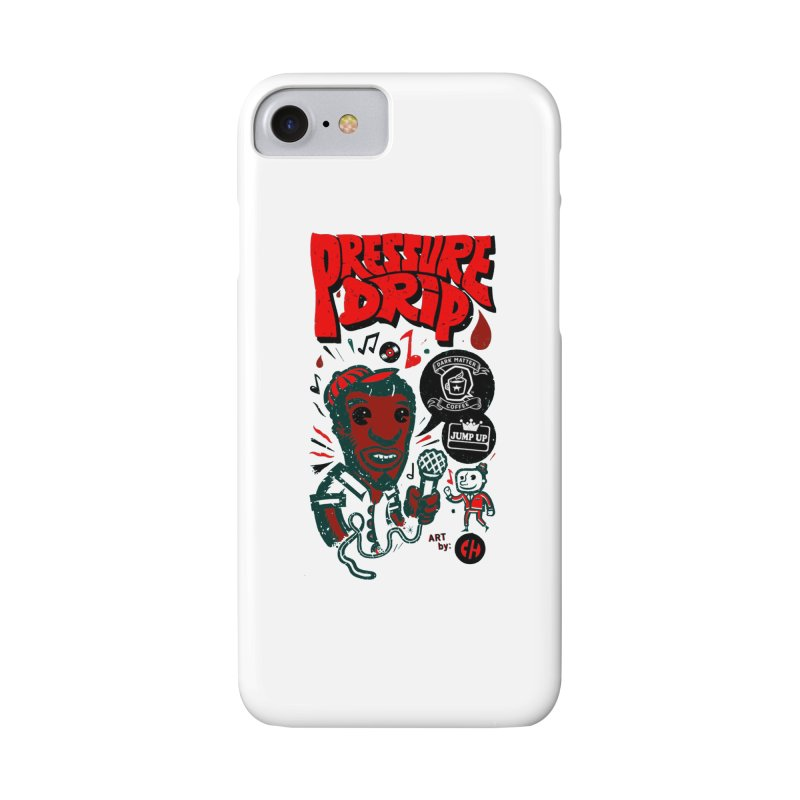 Pressure Drip in iPhone 8 Phone Case Slim by jumpuprecords's Artist Shop