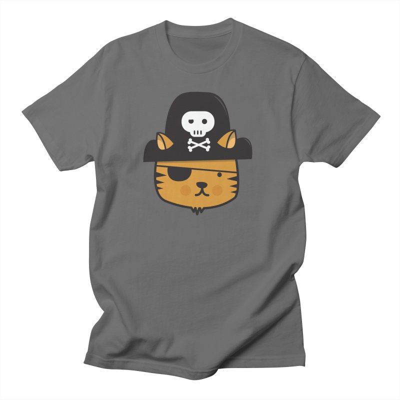 Pirate Cat (Jumpy Icon Series) Men's T-Shirt by jumpy's Artist Shop