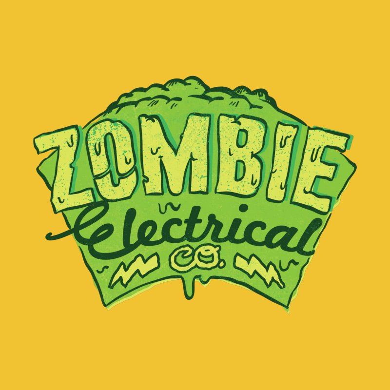 Zombie Electrical Co Women's Pullover Hoody by jumpy's Artist Shop