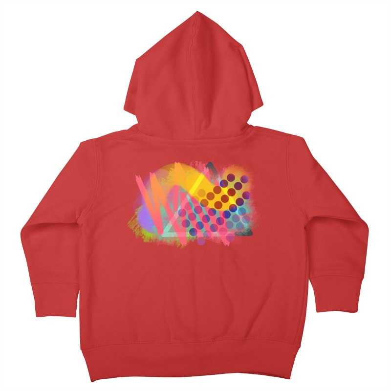 Abstract Jumpy Kids Toddler Zip-Up Hoody by jumpy's Artist Shop