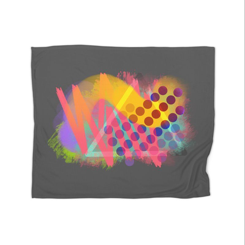 Abstract Jumpy Home Blanket by jumpy's Artist Shop