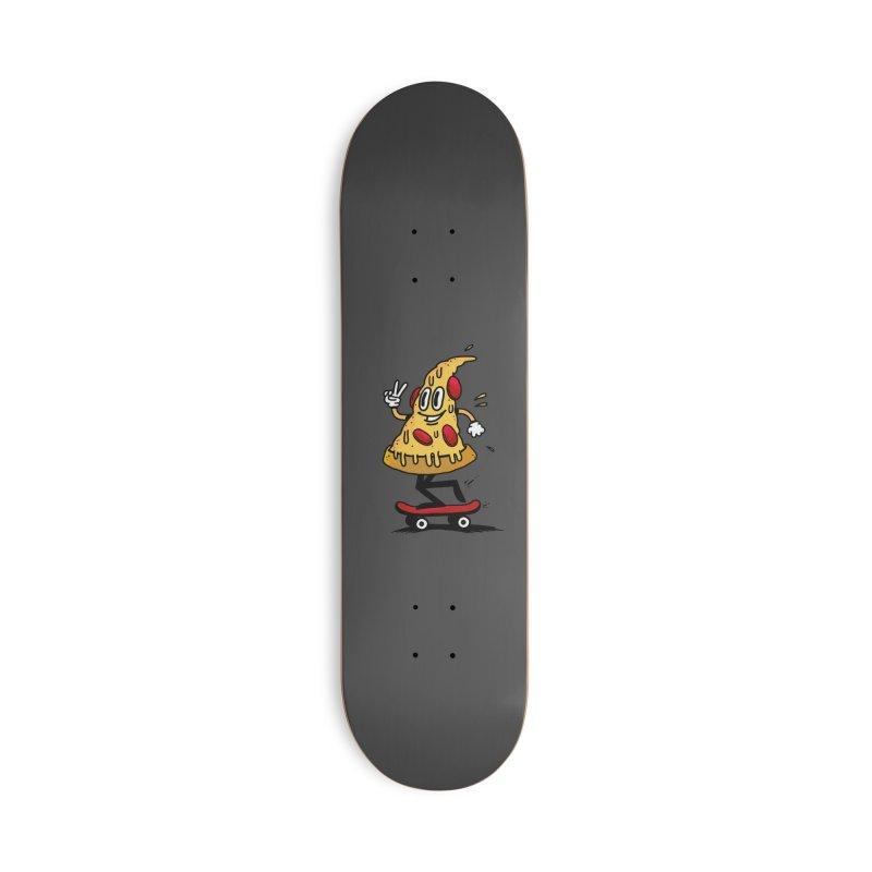 Pizza boy Accessories Skateboard by jumpy's Artist Shop
