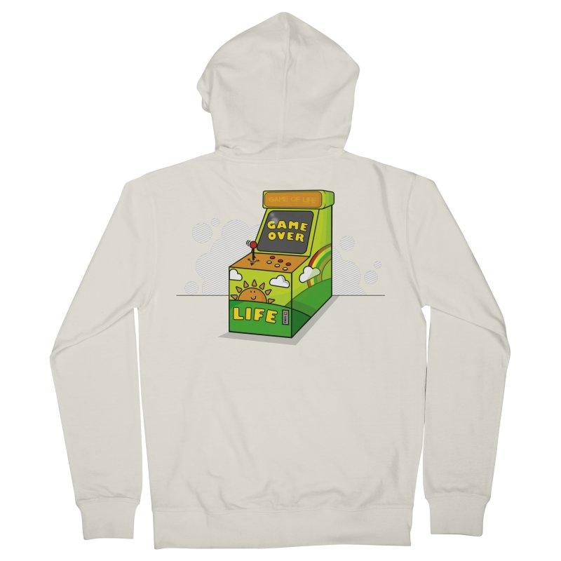 Game of Life Men's Zip-Up Hoody by jumpy's Artist Shop