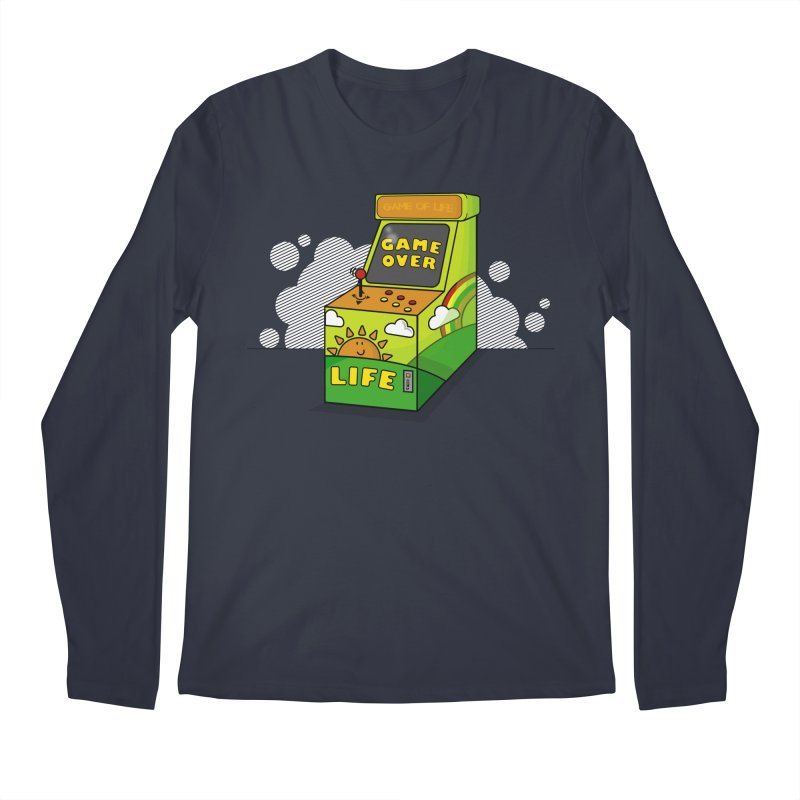 Game of Life Men's Longsleeve T-Shirt by jumpy's Artist Shop