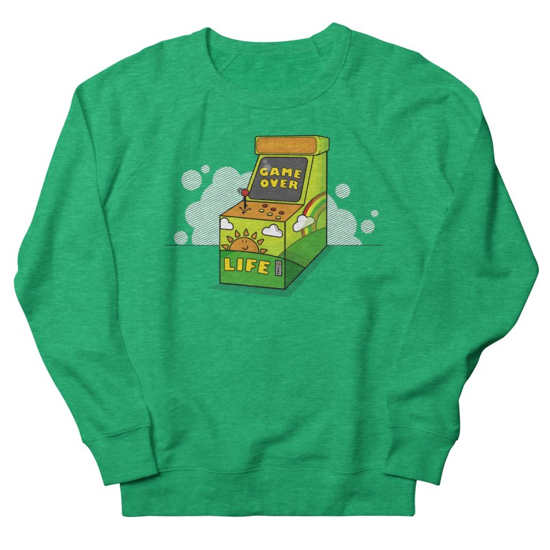 Game of Life Men's Sweatshirt by jumpy's Artist Shop